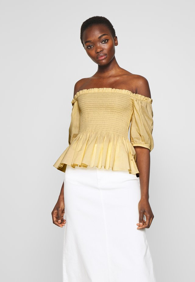VILDE - Blouse - golden