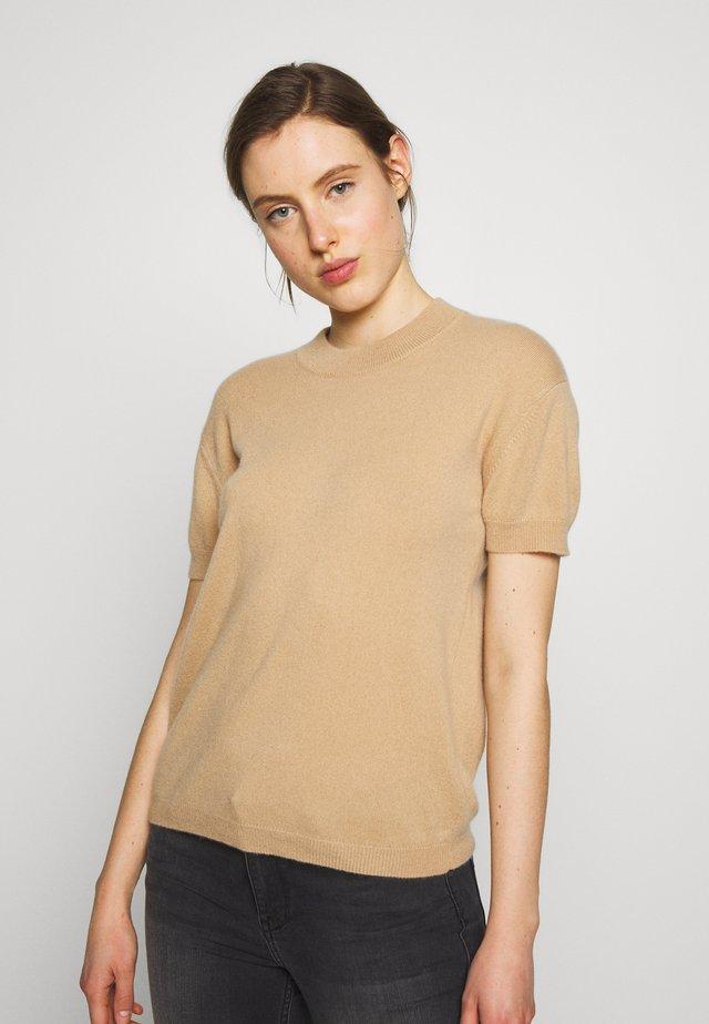 MILA - T-shirt basic - tan