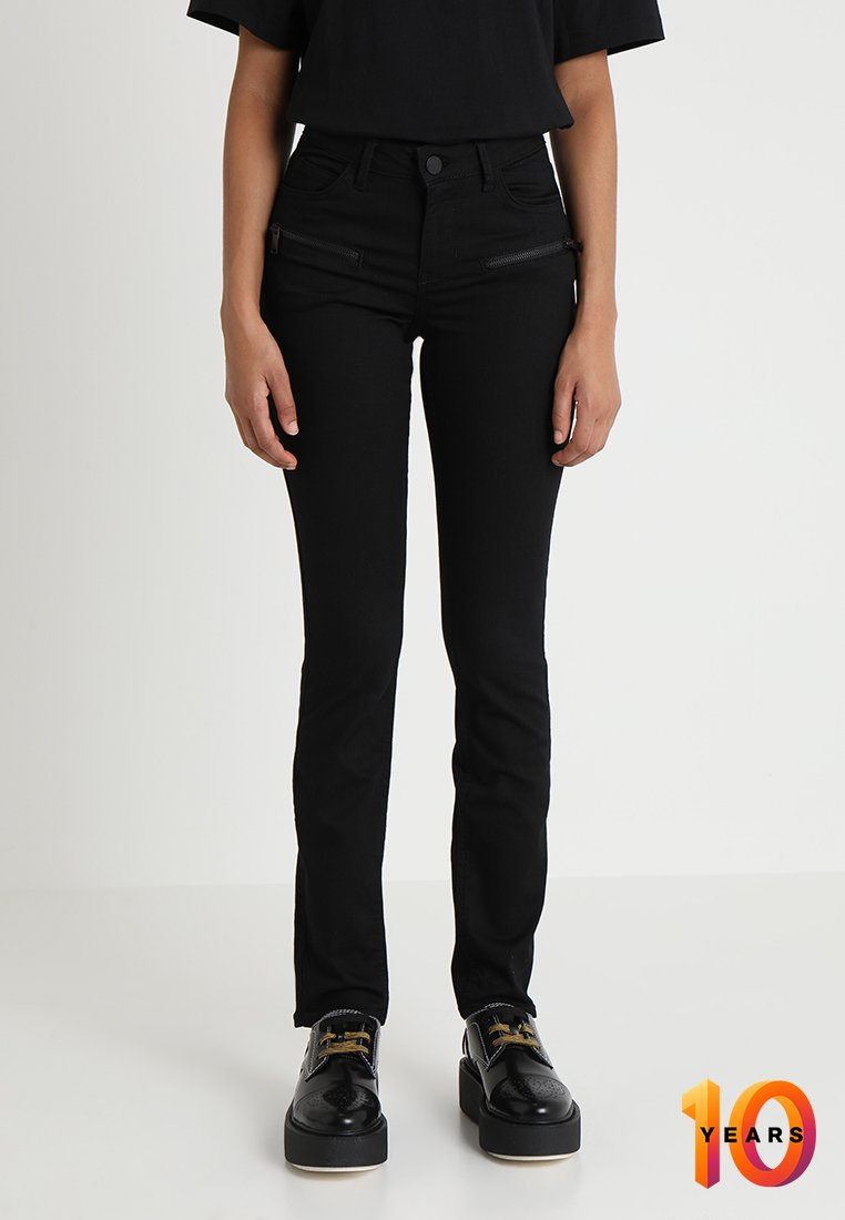2nd Day - SALLY PERFECT ZIPPED  - Jeans Skinny Fit - black denim