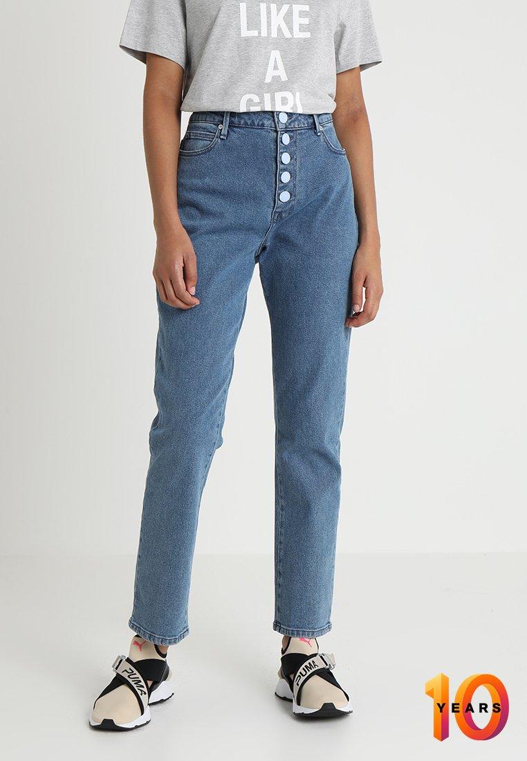 2nd Day - FELLULAH  - Straight leg jeans - indigo heavy