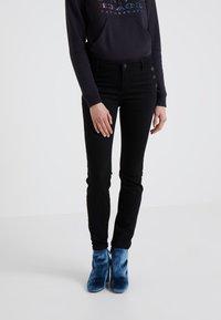 2nd Day - SALLY CROPPEDSAILOR - Jeans Skinny - black denim - 0