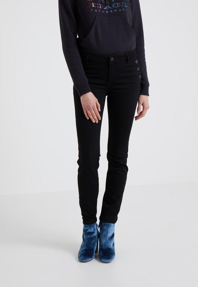 SALLY CROPPEDSAILOR - Jeans Skinny Fit - black denim