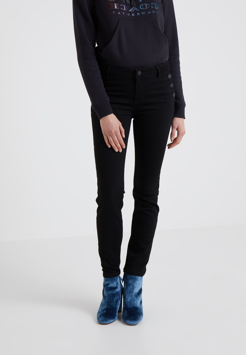 2nd Day - SALLY CROPPEDSAILOR - Jeans Skinny Fit - black denim