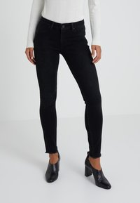 2nd Day - JOLIE FRINGE - Jeans Skinny Fit - dark stone wash - 0