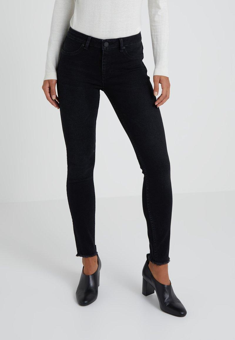 2nd Day - JOLIE FRINGE - Jeans Skinny Fit - dark stone wash