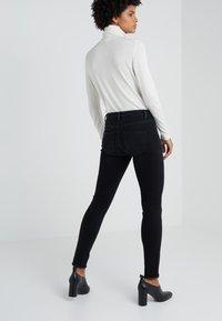 2nd Day - JOLIE FRINGE - Jeans Skinny Fit - dark stone wash - 2