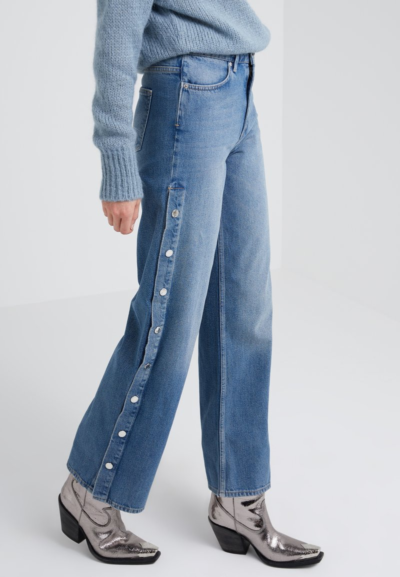 2nd Day - MAIA - Relaxed fit jeans - indigo stone enzyme