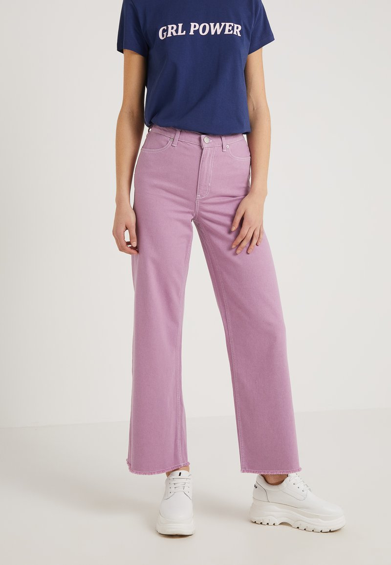 2nd Day - DANIELLE - Jeans Relaxed Fit - orchid petal