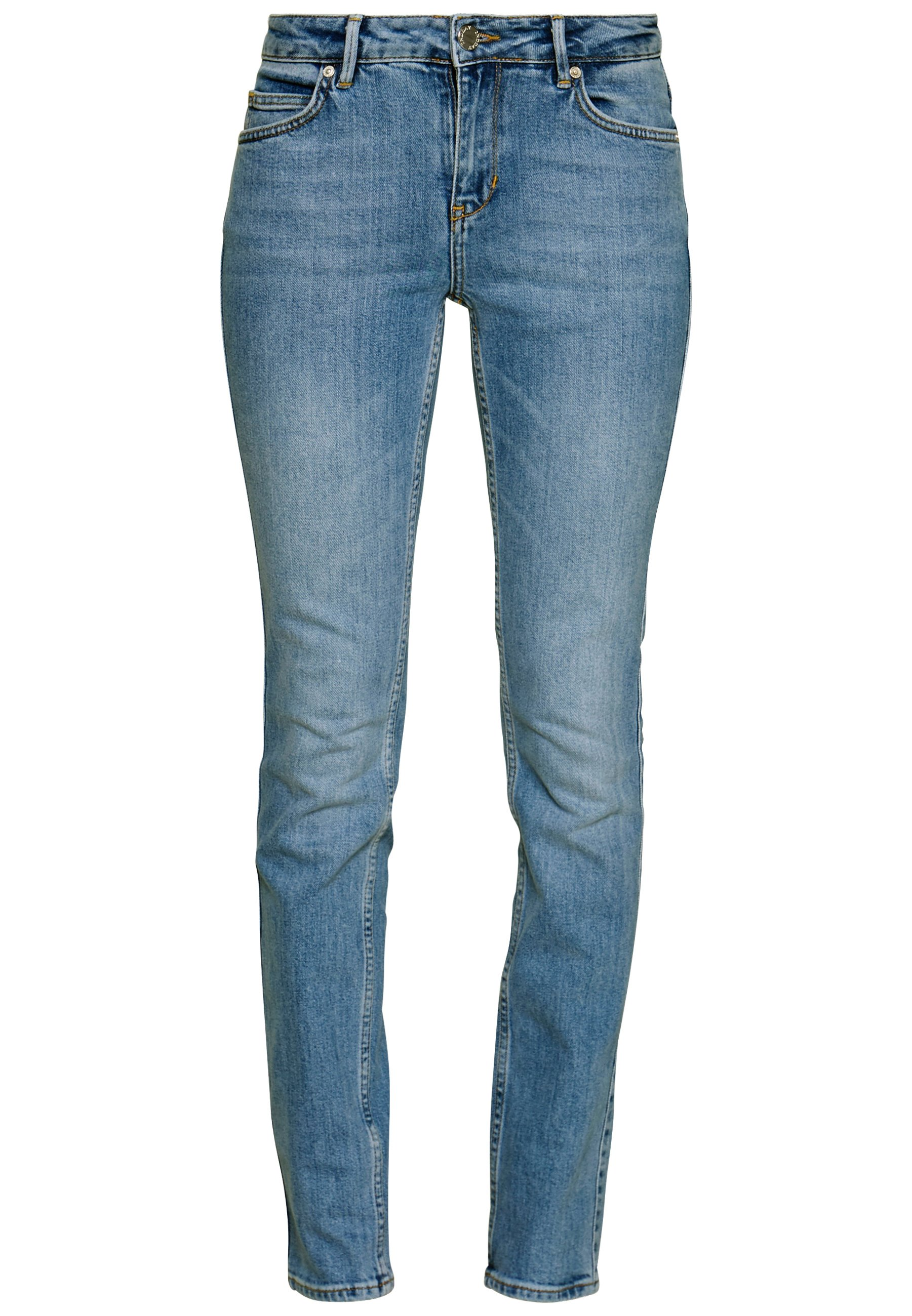 2nd Day SALLY THINKTWICE - Jeansy Skinny Fit - mid blue