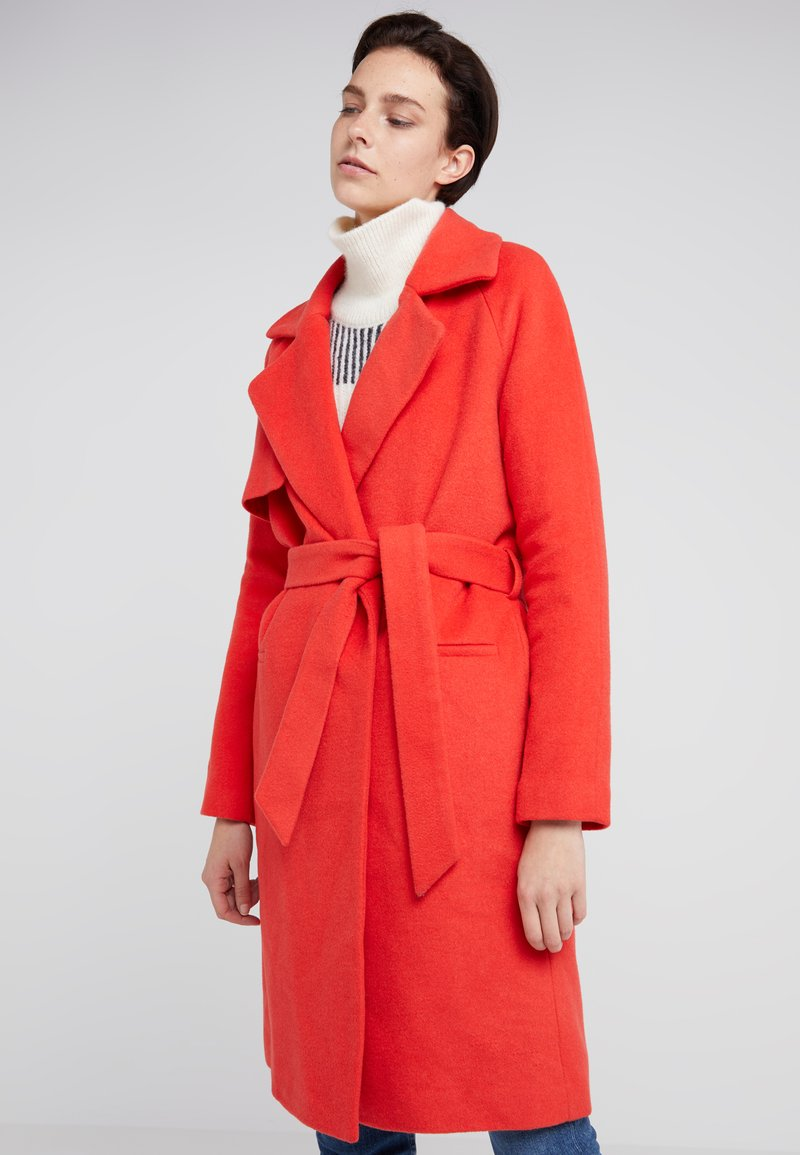 2nd Day - Classic coat - poppy red