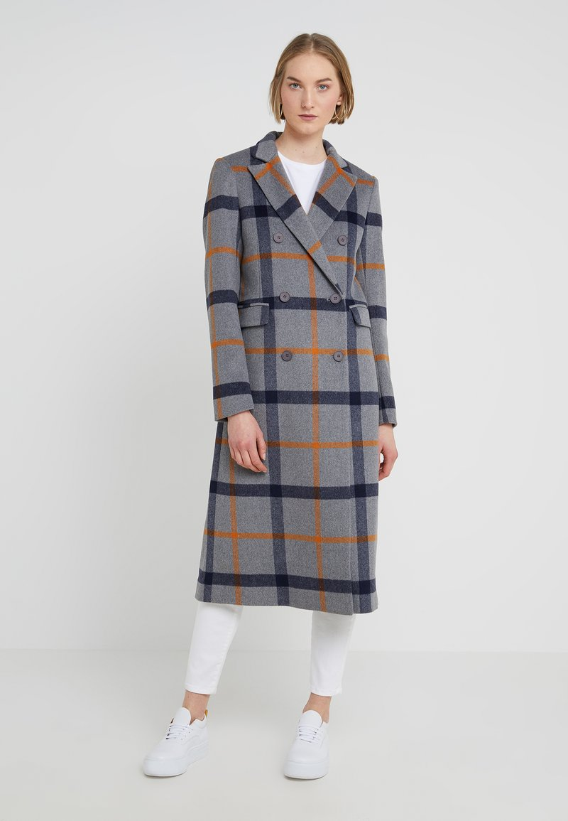 2nd Day - DUSTER - Classic coat - medium grey