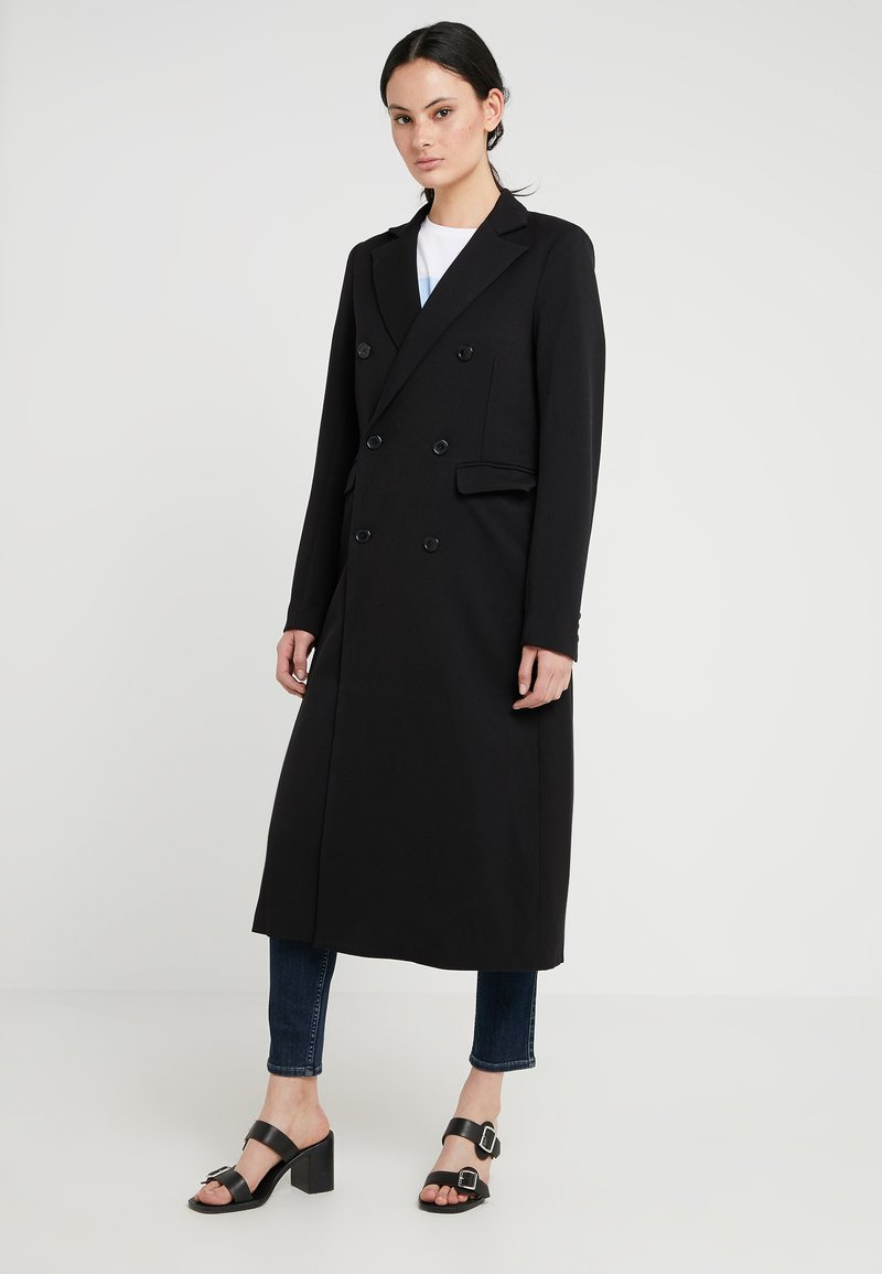2nd Day - DUSTER - Classic coat - black