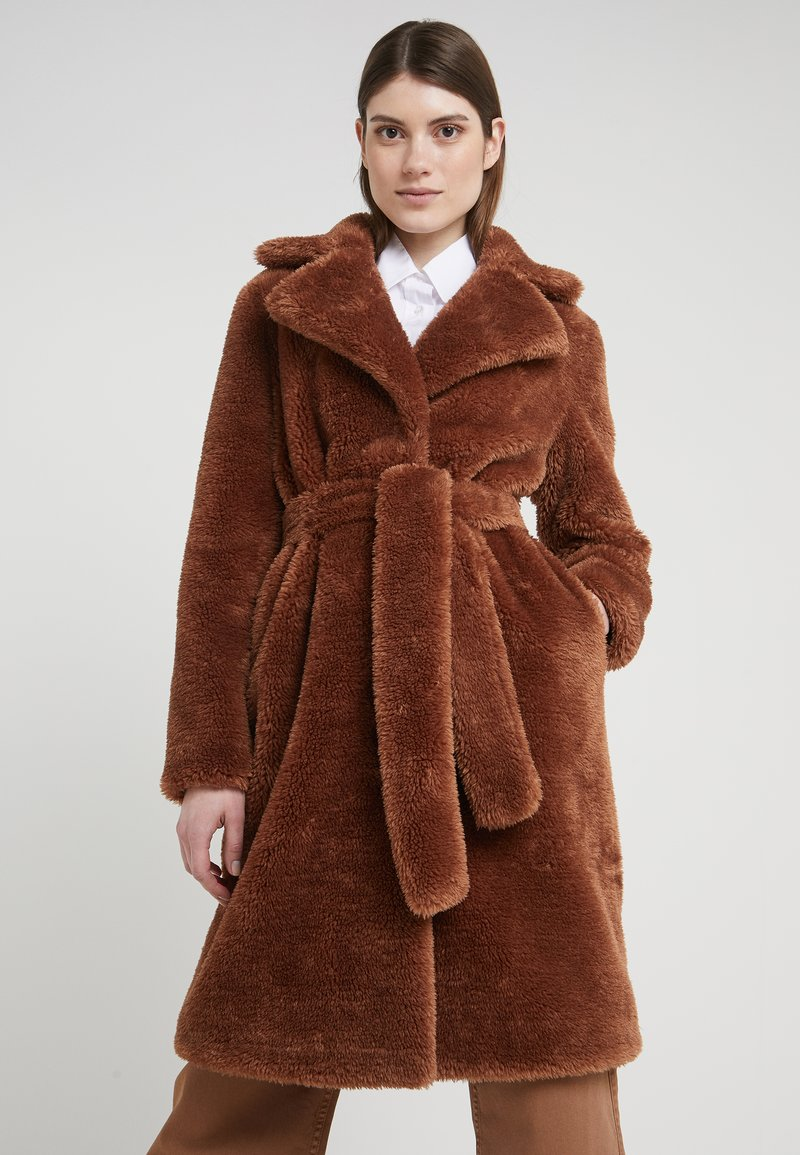 2nd Day - LALLA - Classic coat - rawhide