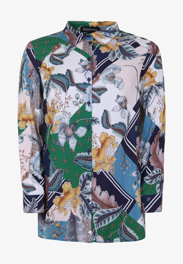 Button-down blouse - billard