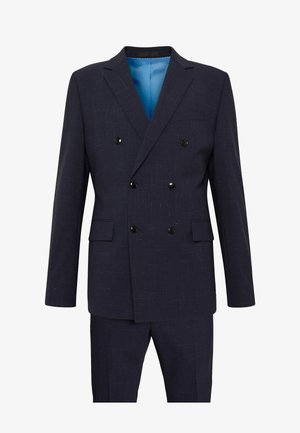 CURL MADDEN DOUBLE BREASTED  SLIM FIT - Suit - blue