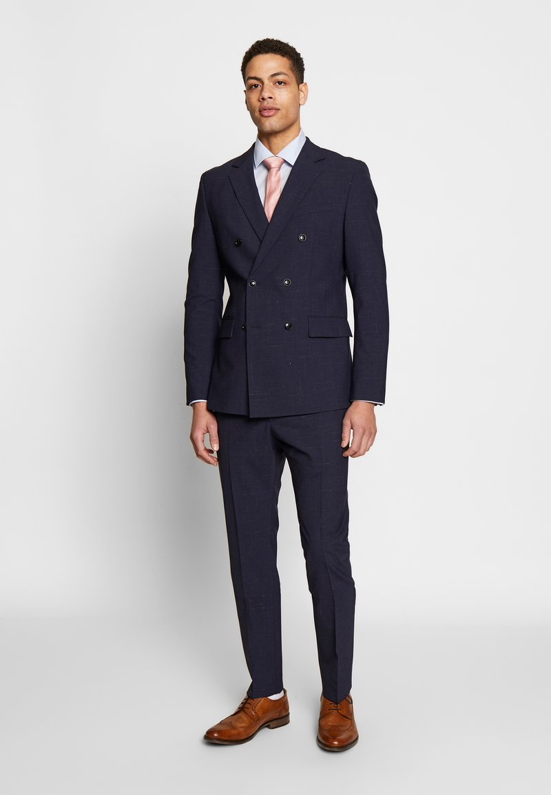 Strellson - CURL MADDEN DOUBLE BREASTED  SLIM FIT - Suit - blue