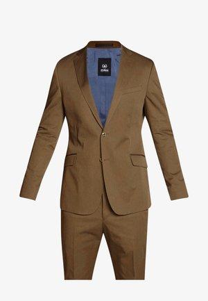 ARON MASER - Oblek - brown