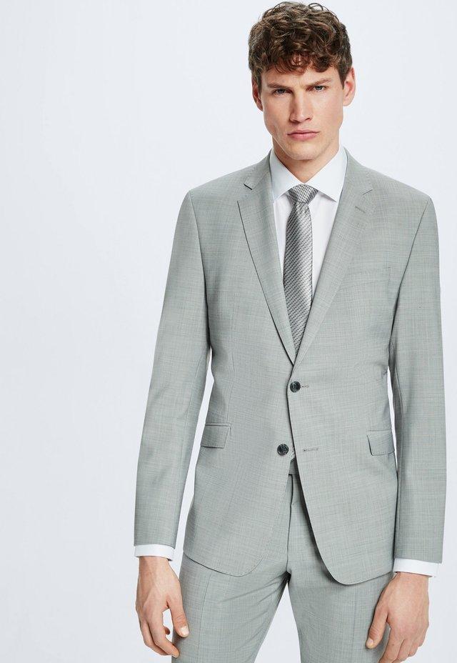 Anzug - hellgrau meliert