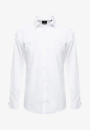 SANTOS UMA SLIM FIT - Camisa elegante - white