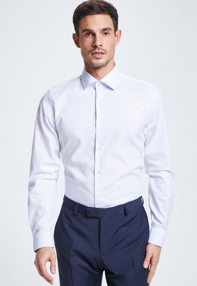 SANTOS - Formal shirt - patterned in white