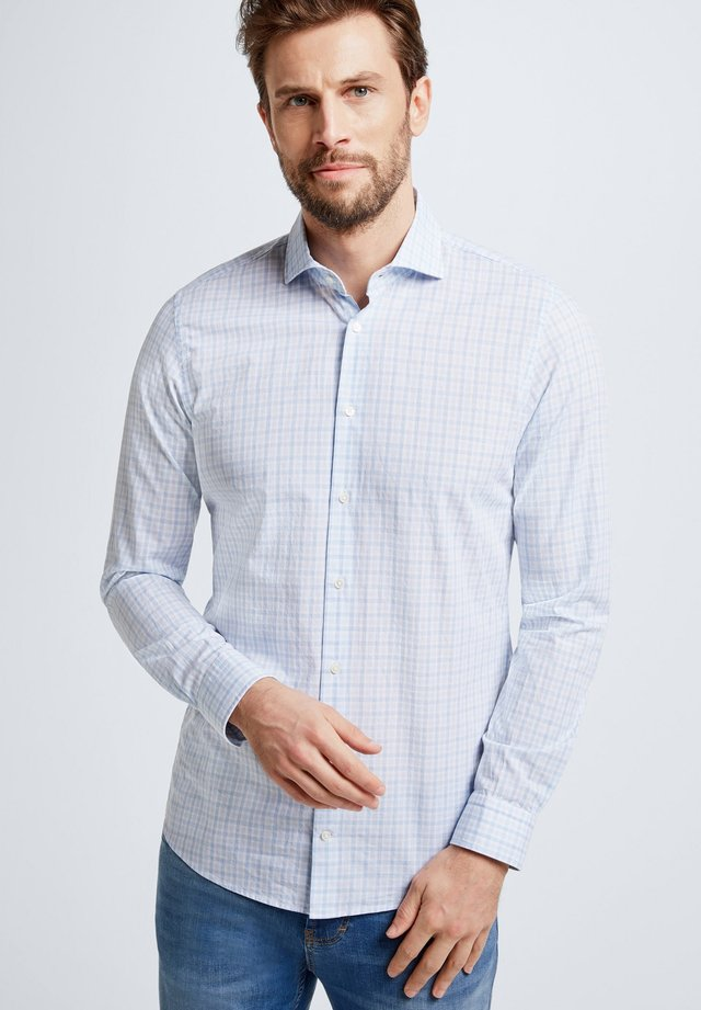 SERENO - Shirt - light blue/white