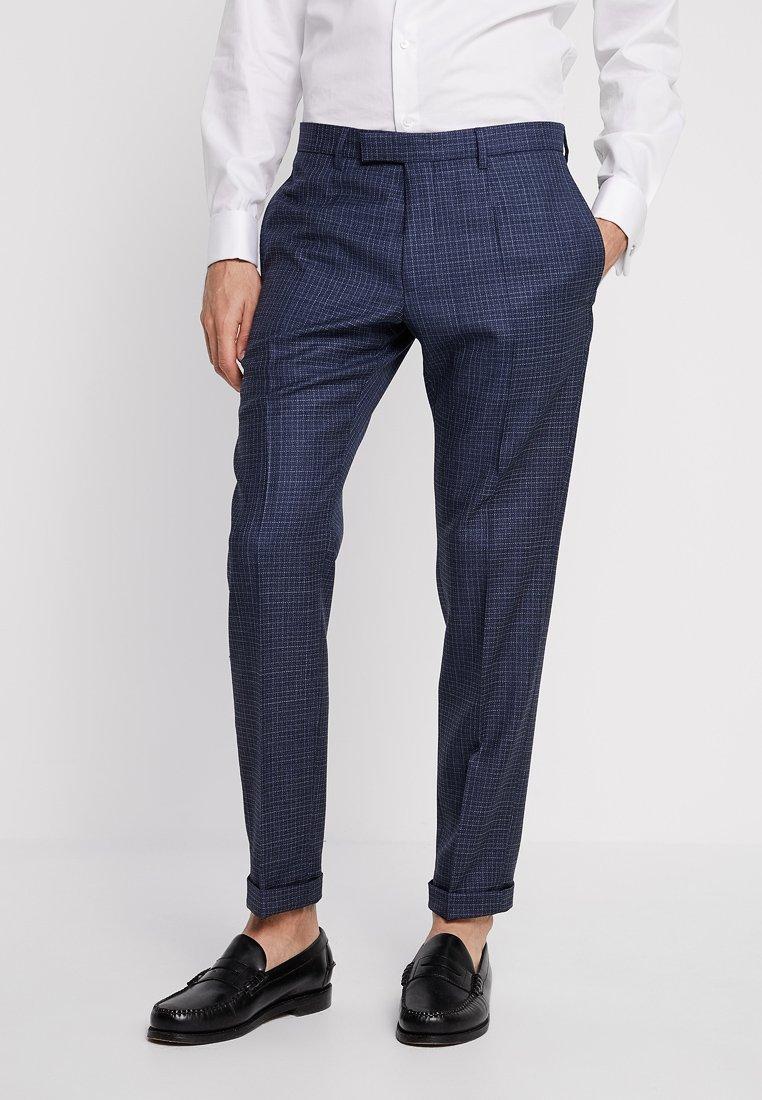 Strellson - QUINTEN - Pantalon de costume - mottled dark blue