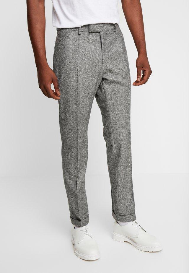 QUINTEN - Bukse - mottled grey