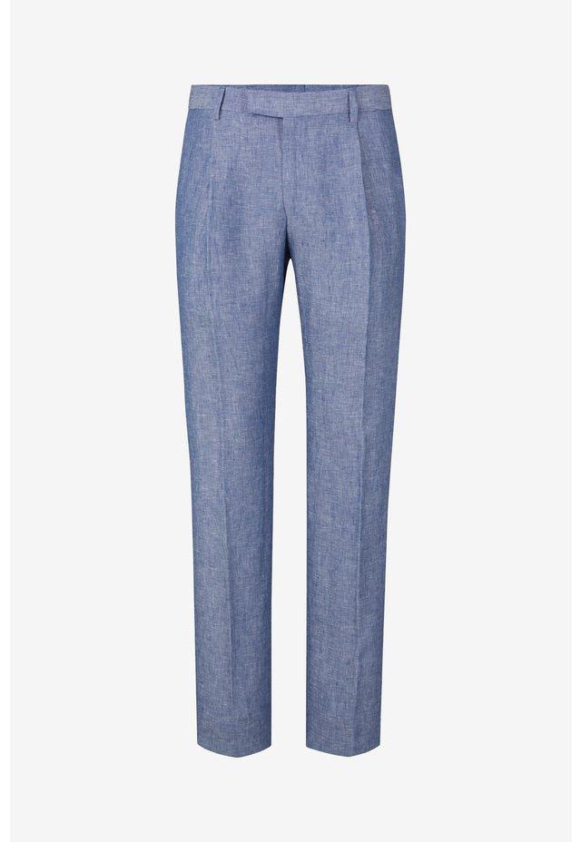 STIRLING - Trousers - medium blau meliert