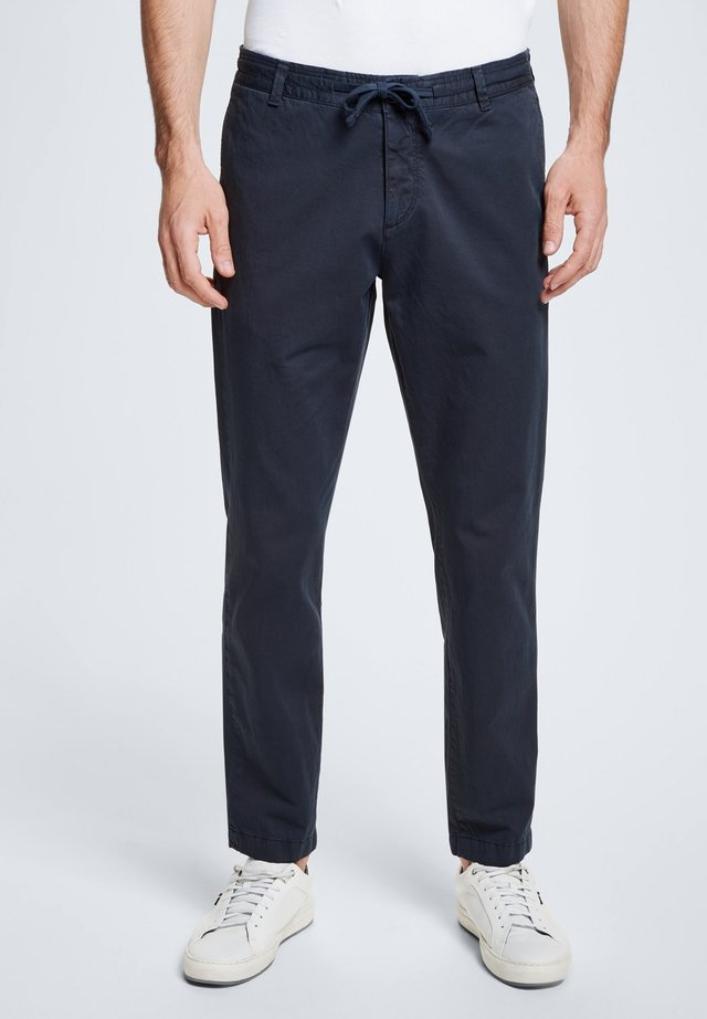PURE - Tracksuit bottoms - navy