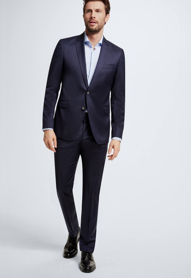 HOSE MERCER - Suit trousers - navy                       410