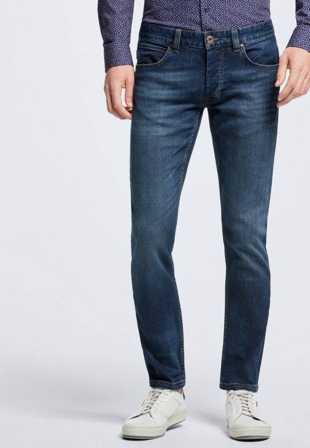 ROBIN - Slim fit jeans - medium blue