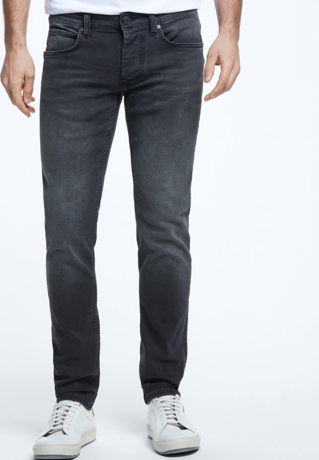 ROBIN - Slim fit jeans - charcoal