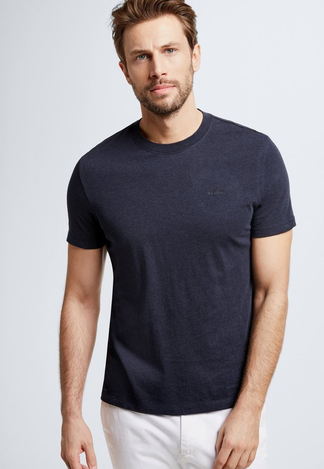 HENDERSON - Basic T-shirt - dark blue