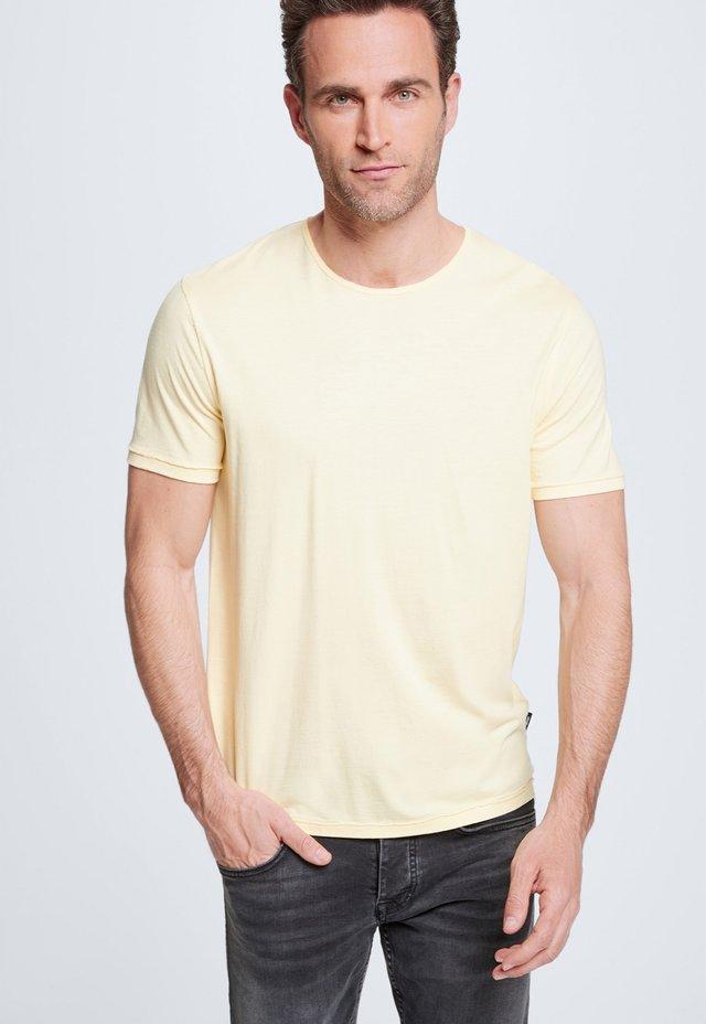 STRELLSON T-SHIRT RYAN - Basic T-shirt - gelb