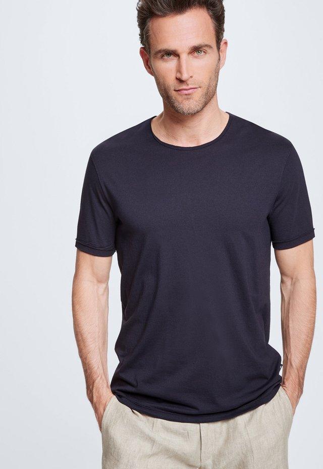 STRELLSON T-SHIRT RYAN - Basic T-shirt - dunkelblau