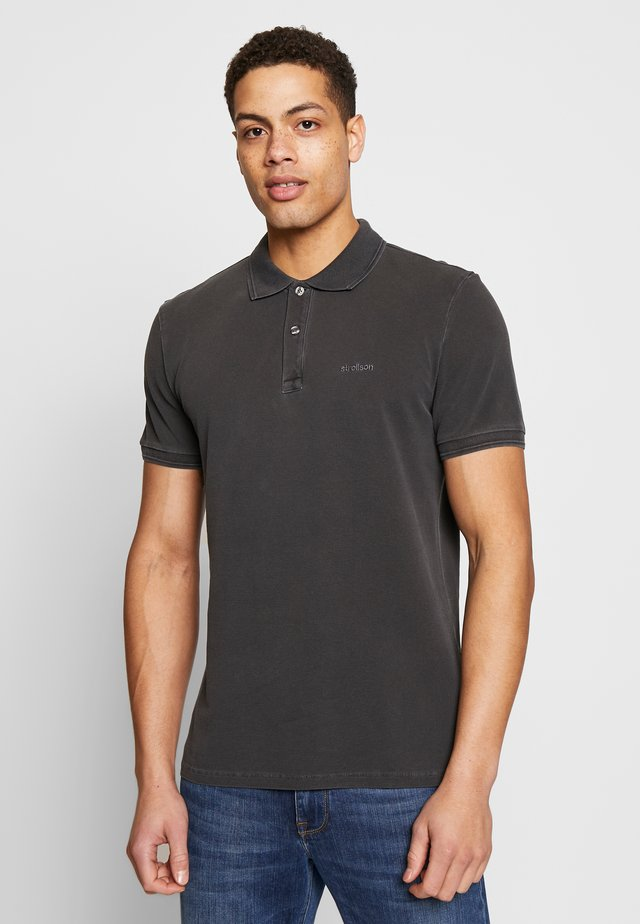 PHILLIP - Polo shirt - black