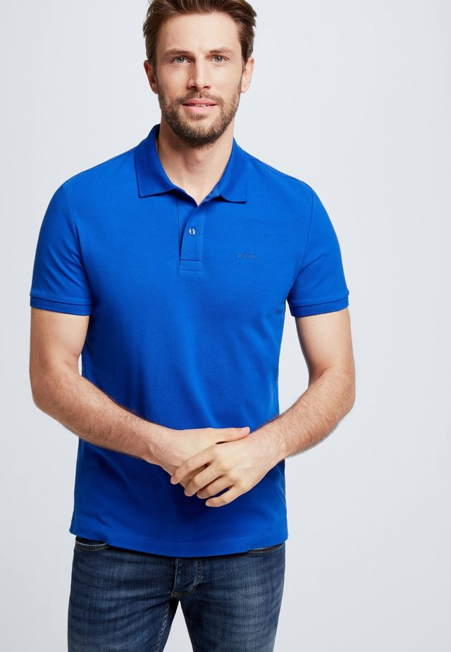 PETTER - Polo shirt - medium blue