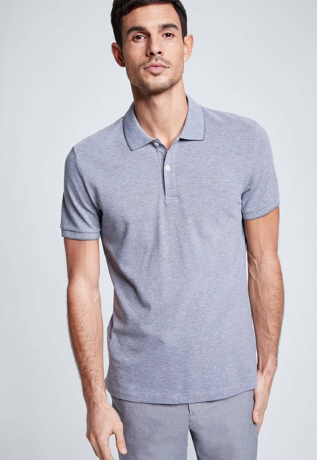 LUCAS - Polo shirt - gray/light gray