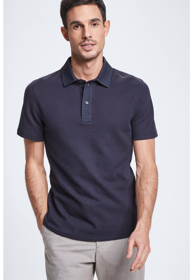 FISHER - Polo shirt - dark blue