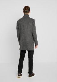 Strellson - Classic coat - mottled dark grey - 2