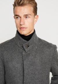Strellson - Classic coat - mottled dark grey - 4