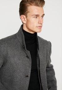 Strellson - Classic coat - mottled dark grey - 3