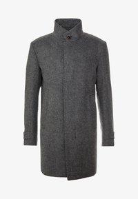 Strellson - Classic coat - mottled dark grey - 5