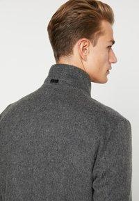 Strellson - Classic coat - mottled dark grey - 6