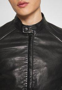 Strellson - MELBOURNE - Leren jas - black - 5