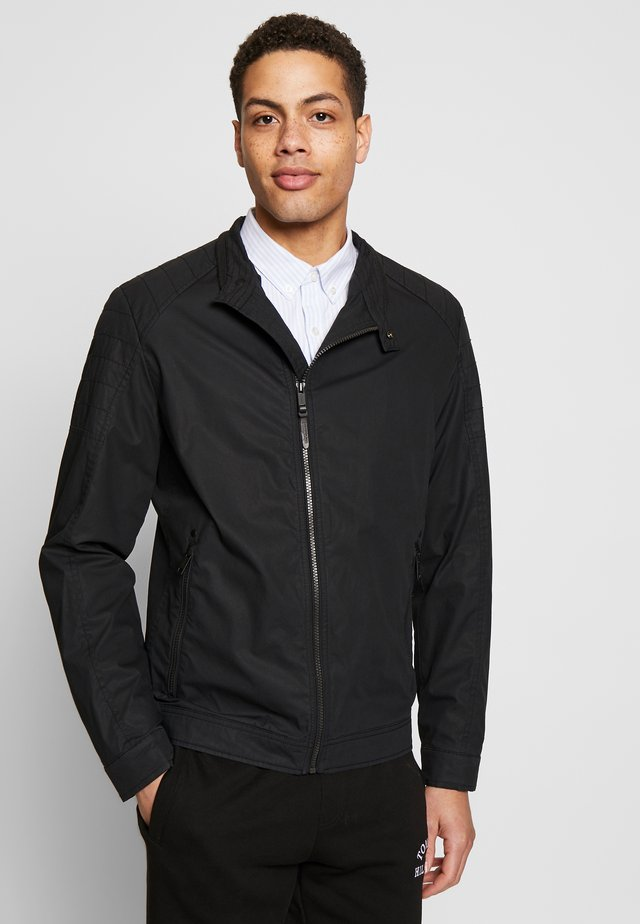 ROVIGO STAND UP  COLLAR - Summer jacket - black