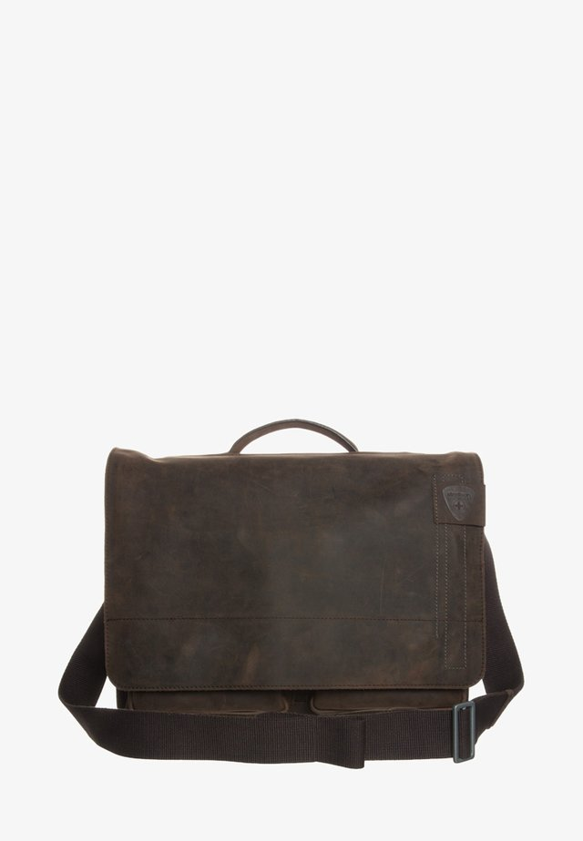 RICHMOND - Laptop bag - dark brown