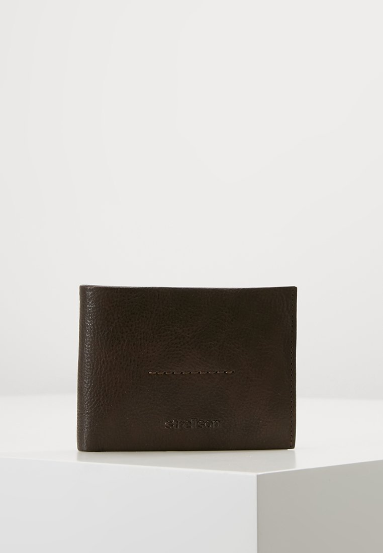 Strellson - COLEMAN 2.0 BILLFOLD - Wallet - dark brown
