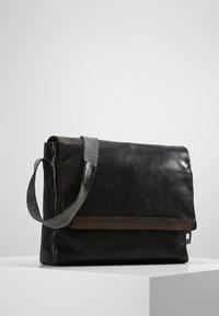Strellson - Across body bag - dark brown - 0