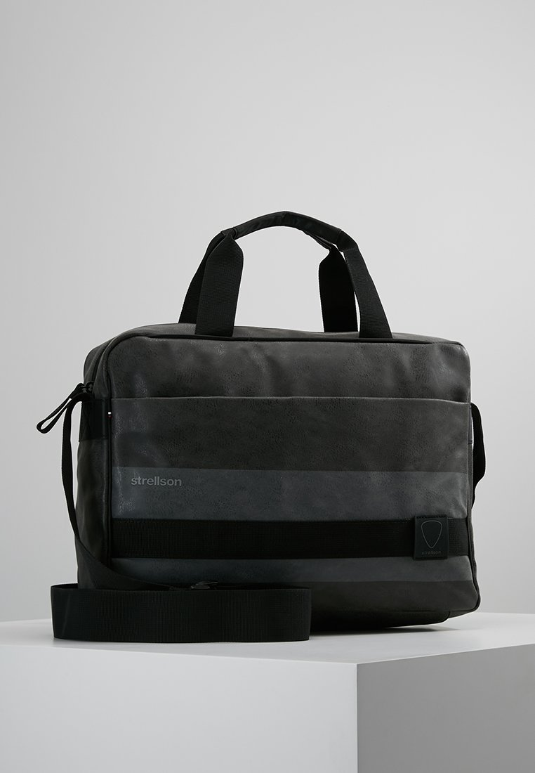 Strellson - FINLEY - Attachetasker - dark grey